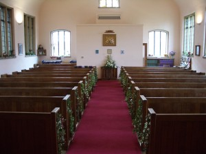 Interior of John Pounds Church Portsmouth Unitarians